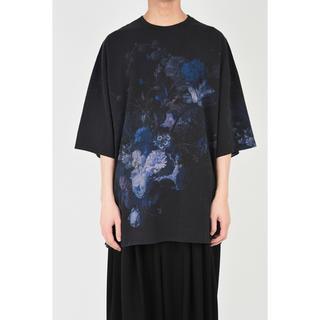 ラッドミュージシャン(LAD MUSICIAN)のLAD MUSICIAN FLOWER SUPER BIG T (navy)(Tシャツ/カットソー(半袖/袖なし))