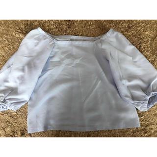 ジーユー(GU)のジーユー ブラウス(シャツ/ブラウス(半袖/袖なし))