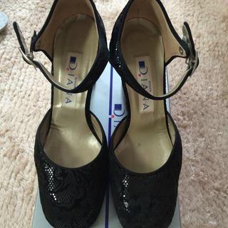 ダイアナ(DIANA)のDIANA  パーティー靴  美品(ハイヒール/パンプス)