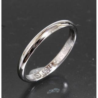 カルティエ(Cartier)のカルティエ cartier シンプル リング size54 pt950 新品仕上(リング(指輪))