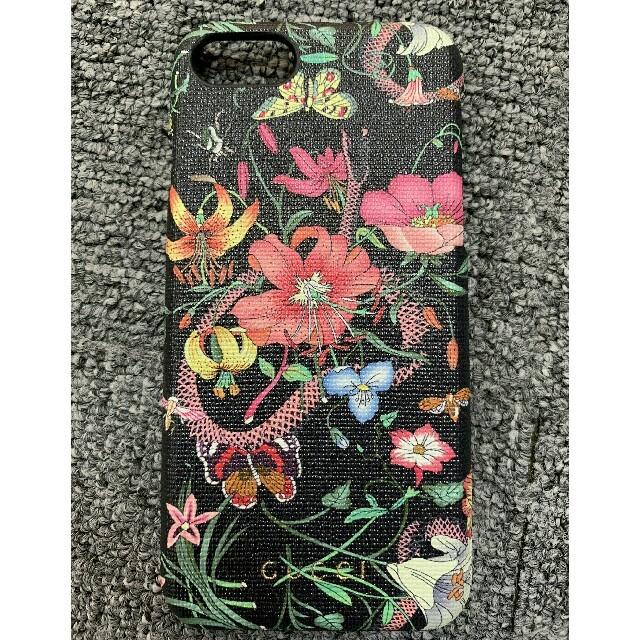 Gucci - Iphoneケース グッチ ブラック の通販 by あつ子^_^'s shop|グッチならラクマ
