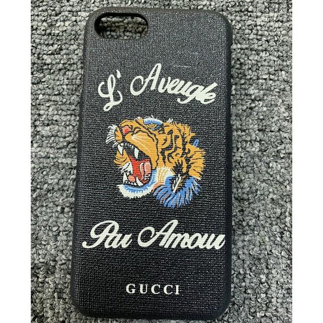 gucci iphone7 ケース xperia - Gucci - Iphoneケース グッチ ブラック の通販 by あつ子^_^'s shop|グッチならラクマ