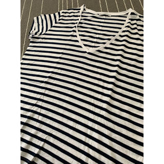 ザラ(ZARA)のzaraボーダー(Tシャツ(半袖/袖なし))