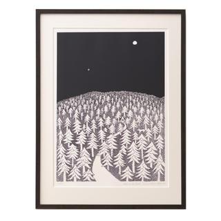 ミナペルホネン(mina perhonen)の皆川 明 Art Collection Poster  A2 黒 ミナペルホネン(アート/エンタメ/ホビー)