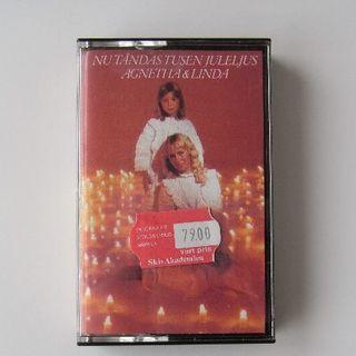 ミュージックテープ(ABBAのAGNETHAとその娘LINDA)(ワールドミュージック)