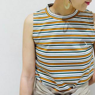 ノーブル(Noble)のspick and span Nobleボーダーハイネック(Tシャツ(半袖/袖なし))