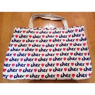 シェル(Cher)の新品 Cher トートバッグ ファスナーつき(トートバッグ)