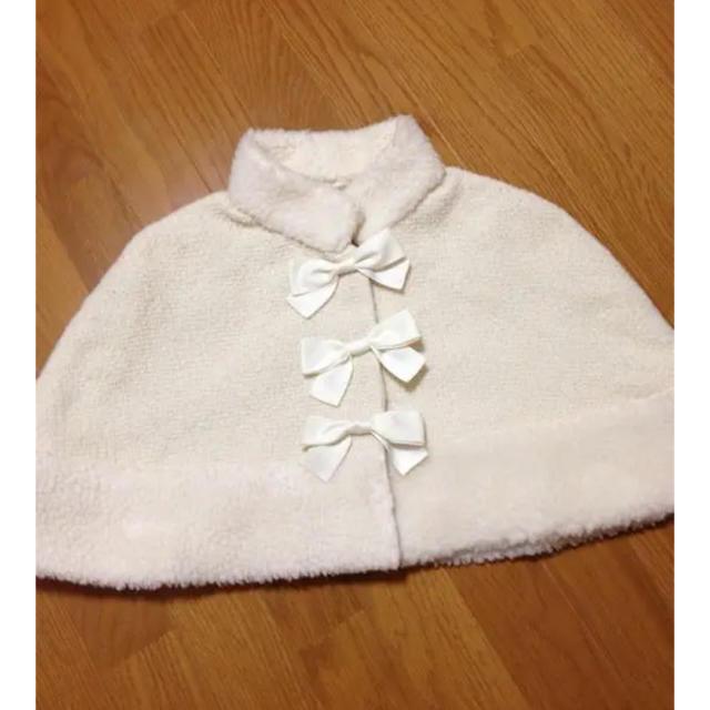 Heart E(ハートイー)のポンチョ レディースのジャケット/アウター(ポンチョ)の商品写真