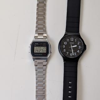 17db72b8e4 カシオ(CASIO)のCASIO カシオ チープカシオ チプカシ デジタル時計 2本セット(