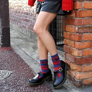ドクターマーチン(Dr.Martens)の【専用】Dr.Martens SOPHIA UK5 黒 厚底 メリージェーン (ローファー/革靴)