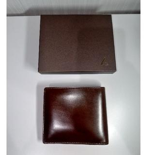 ツチヤカバンセイゾウジョ(土屋鞄製造所)の【ちゃむ様専用】土屋鞄 コードバン 二つ折り財布(折り財布)