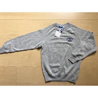ad7b56d3d7dd0 アシックス(asics)のasics トレーナー 140 グレイ(Tシャツ カットソー)