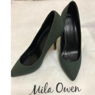 698f2eea3d8e ミラオーウェン(Mila Owen)のMila owen❤ ミラオーウェン ❤ カーキ