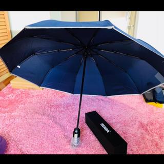REIDA 折りたたみ傘 ワンタッチ自動開閉 Teflon加工 晴雨兼用(傘)