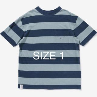 ダブルタップス(W)taps)の送料無料 DESCENDANT TURTOISE BORFER TEE BLUE(Tシャツ/カットソー(半袖/袖なし))