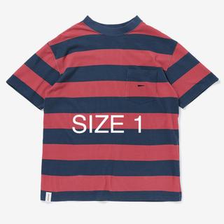 ダブルタップス(W)taps)の送料無料 DESCENDANT TURTOISE BORDER TEE RED(Tシャツ/カットソー(半袖/袖なし))