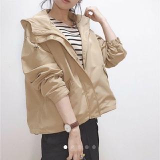 ジーユー(GU)のgu☆マウンテンパーカー☆Sサイズ☆新品☆インスタ☆wear(マウンテンパーカー)