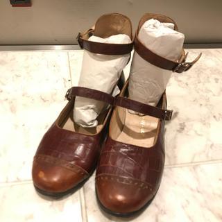 ジェーンマープル(JaneMarple)の本日限定値下げ!ジェーンマープルドンルサロン2連ストラップ靴 S(ハイヒール/パンプス)