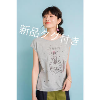 ドールアップウップス(doll up oops)の★新品★しまうま柄ドットTシャツ(Tシャツ(半袖/袖なし))