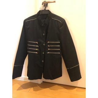 ヨウジヤマモト(Yohji Yamamoto)の古着  ノーカラー ジャケット  USED(ノーカラージャケット)