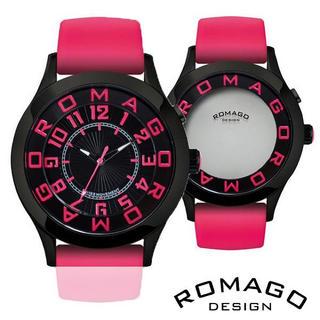 ロマゴデザイン(ROMAGO DESIGN)の正規品 ROMAGO DESIGN腕時計 アトラクション メンズ腕時計(腕時計(デジタル))