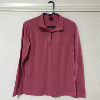 モンベル(mont bell)のモンベル・長袖Tシャツ・ピンク(Tシャツ(長袖/七分))