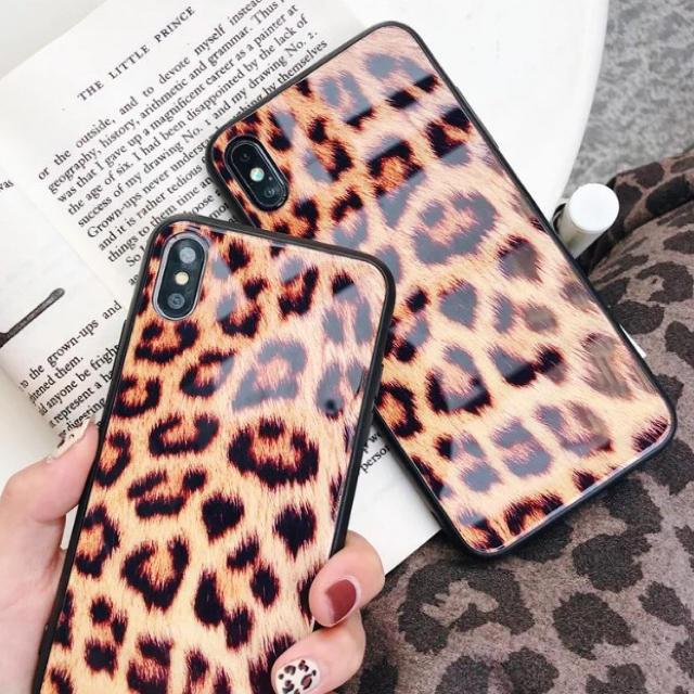 エムシーエム iphonexs ケース 海外 | ヒョウ柄  ☆新品☆  iPhoneケース  ☆  78/Xの通販 by matsuhana's shop|ラクマ