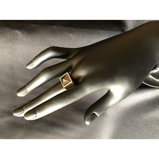 Black Stone(ブラックストーン) Silver Ring (リング(指輪))