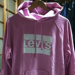 リーバイス(Levi's)のみっちゃん様、専用LEVI'S  パーカー L ピンク tシャツ グレー 2点(パーカー)