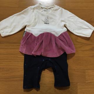 アンパサンド(ampersand)のロンパース  70 女の子 スカート パンツ ブリーズ(ロンパース)