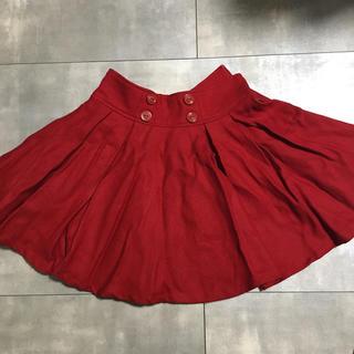 バイバイ(ByeBye)の赤スカート(ミニスカート)