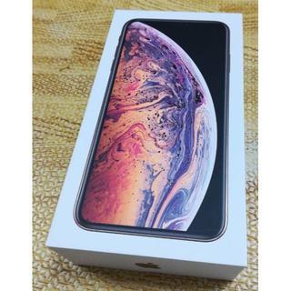 アイフォーン(iPhone)の即決。新品iPhone XS MAX 64GB ゴールド(スマートフォン本体)