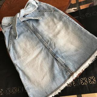 ジーユー(GU)のGU  kids デニムスカート size110(スカート)