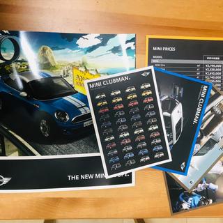BMW - ミニクーパー MINI カタログ、ポストカード4枚