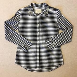 チェスティ(Chesty)の専用!チェスティ  チェックシャツ ブロックチェック ビジュー(シャツ/ブラウス(長袖/七分))