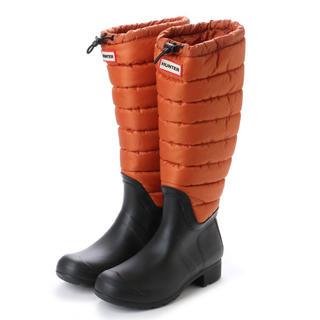ハンター(HUNTER)のHUNTER レイン・スノーブーツ オレンジ(レインブーツ/長靴)