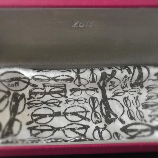 Zoff(ゾフ)のzoff  度なし メガネ レディースのファッション小物(サングラス/メガネ)の商品写真