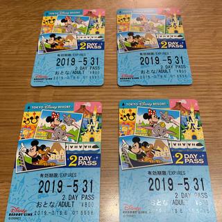 ディズニー(Disney)のディズニー リゾートライン 2daypass(鉄道乗車券)