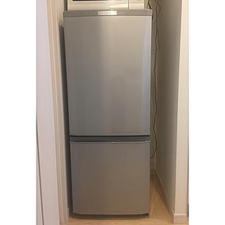 ミツビシデンキ(三菱電機)の2016年製 三菱冷凍冷蔵庫 146L (MR-P15Z-S)(冷蔵庫)