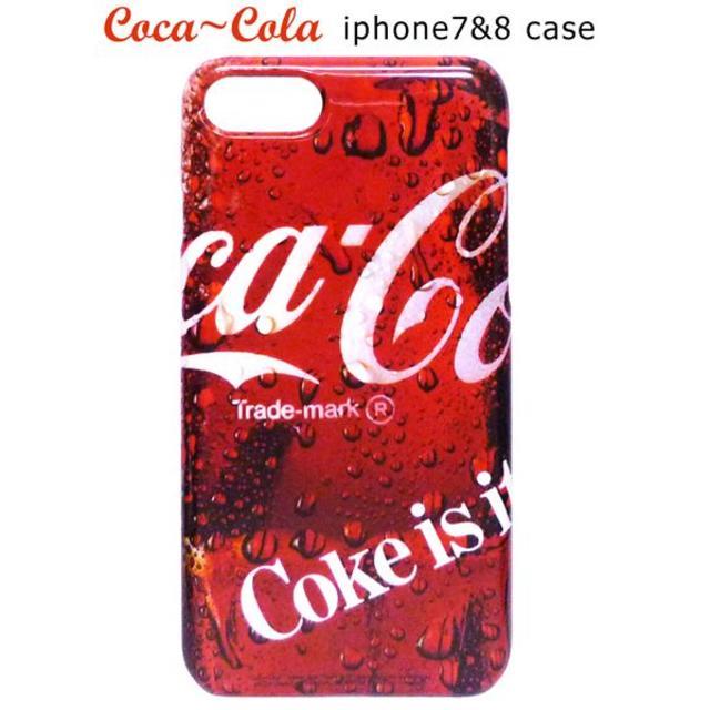 コカコーラのスマホケース カバー/6(iPhone7 ,8 対応)アイフォンの通販 by ラビアン's shop|ラクマ
