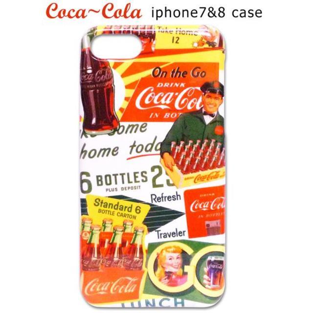 iphone7 2 台 ケース - コカコーラのスマホケース カバー/10(iPhone7 ,8 対応)アイフォンの通販 by ラビアン's shop|ラクマ