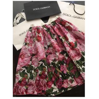ドルチェアンドガッバーナ(DOLCE&GABBANA)のdolce&gabbana ローズスカート 正規店購入(その他)