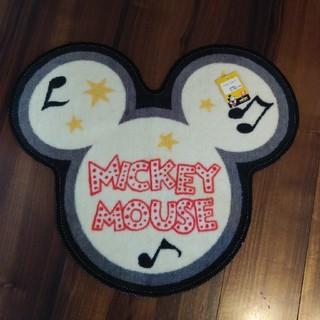 ディズニー(Disney)のミッキー マット(フロアマット)