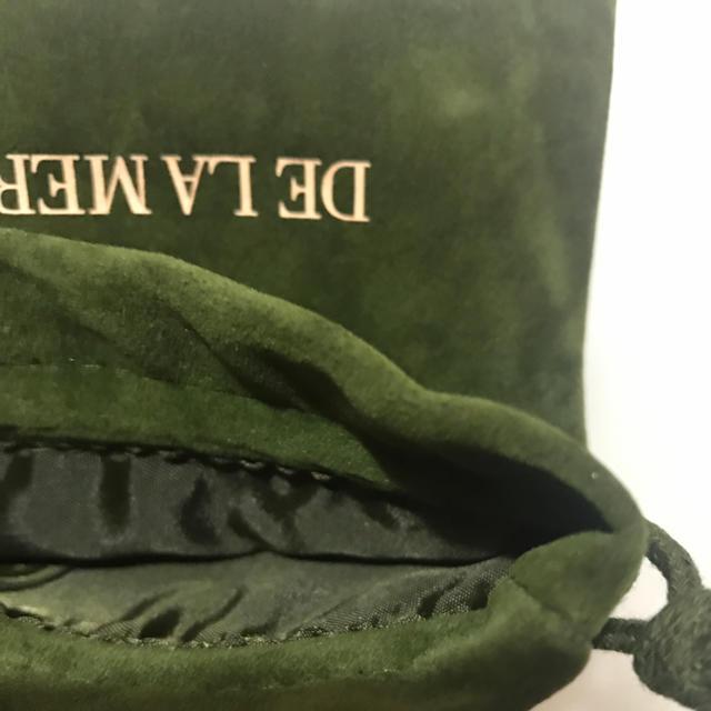 DE LA MER(ドゥラメール)のラメール ポーチ 非売品 コスメポーチ ノベルティ アクセサリーポーチ レディースのファッション小物(ポーチ)の商品写真