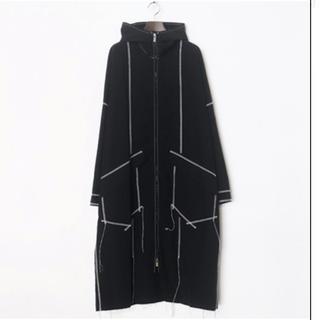 ヨウジヤマモト(Yohji Yamamoto)のsulvam / サルバム  zip up rain coat コート 18aw(ナイロンジャケット)
