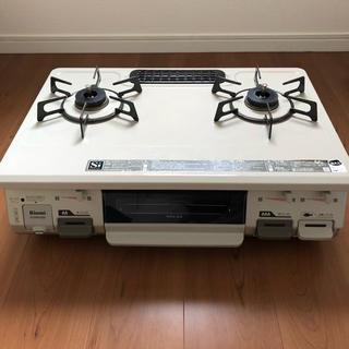 リンナイ(Rinnai)のガスコンロ リンナイ グリル付ガステーブル RT64JH-R(調理機器)