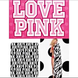 ヴィクトリアズシークレット(Victoria's Secret)の新品未使用正規品 Victoria's Secret  PINK ブランケット❷(毛布)