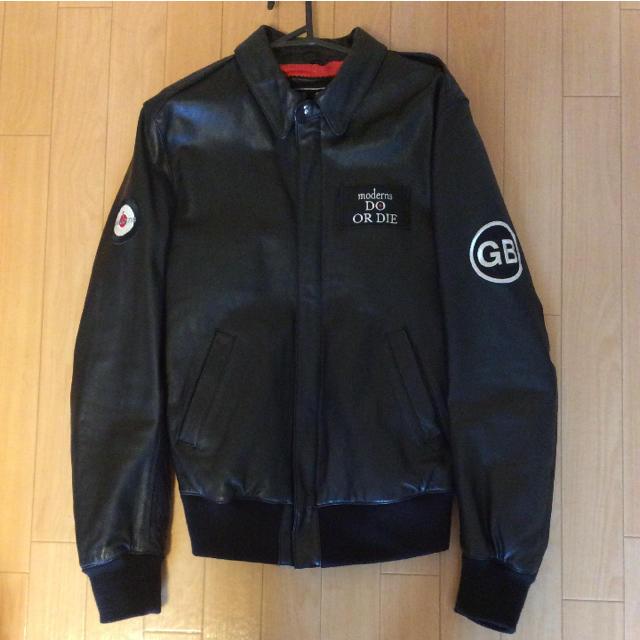 GB(ジービー)のGB skins レザーブルゾン メンズのジャケット/アウター(レザージャケット)の商品写真
