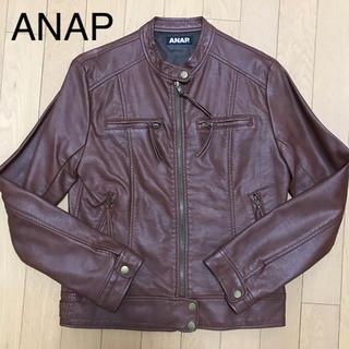 アナップ(ANAP)の新品 ANAP ライダースジャケット アナップ INGNI セシルマクビー(ライダースジャケット)