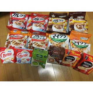 ネスレ(Nestle)のフルーツグラノーラ ネスレ ラテセット(菓子/デザート)